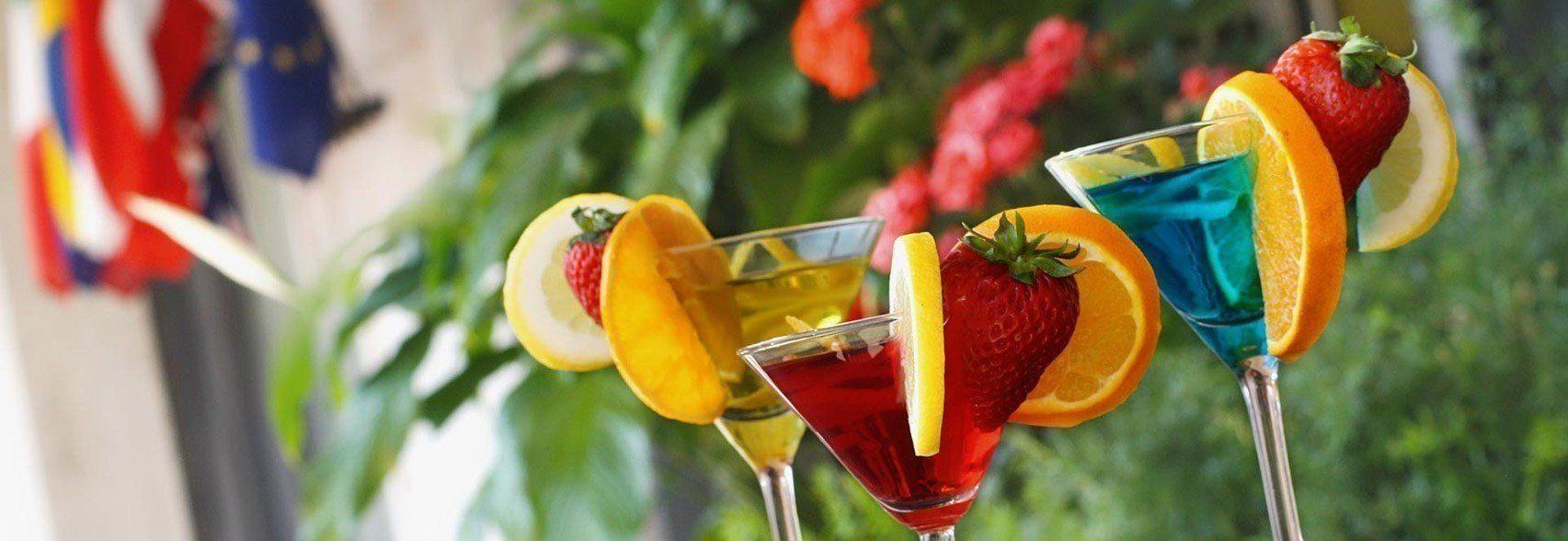 Piccolo Hotel cocktail